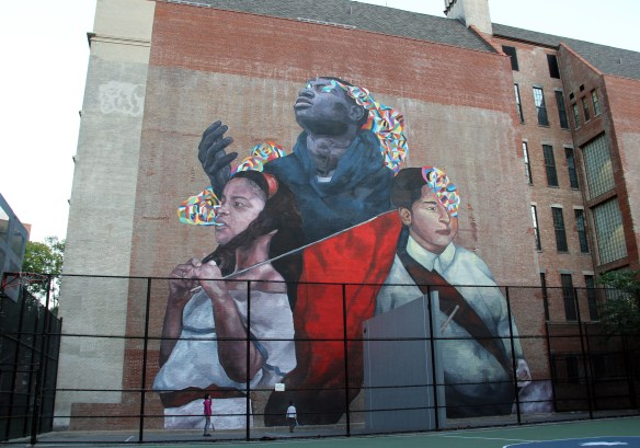 the second conquest2_east harlem_NYC_monumentart_2015