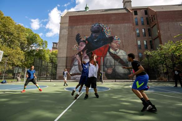 the second conquest_2_east harlem_NYC_monumentart_2015 Picture by William Alatriste