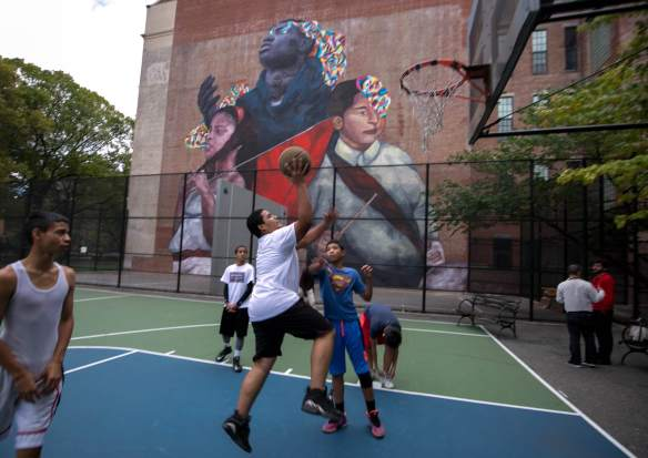 the second conquest_east harlem_NYC_monumentart_2015 Picture by William Alatriste