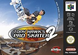 tony hawk 2, pro skater, game