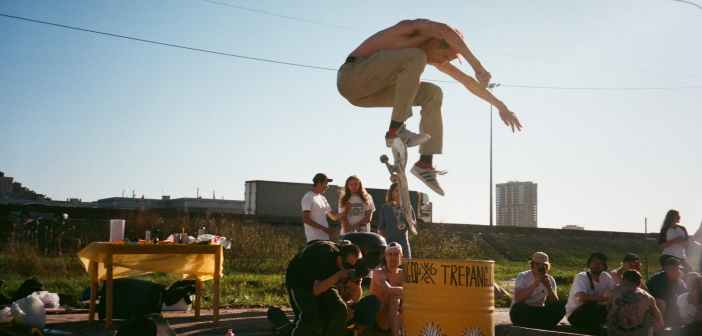 backside flip, skate, trick