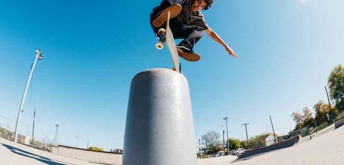 kickflip, skateboard, trick