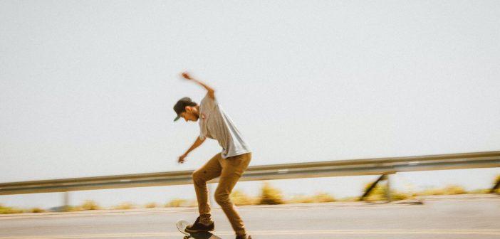 manual, skateboard, trick