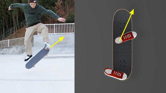 heelflip, heelflip trick tip, how to heelflip