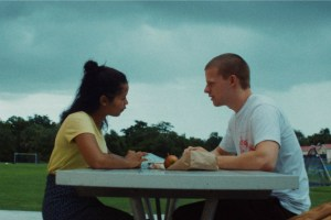 lucas hedges, waves, movie, taylor russell