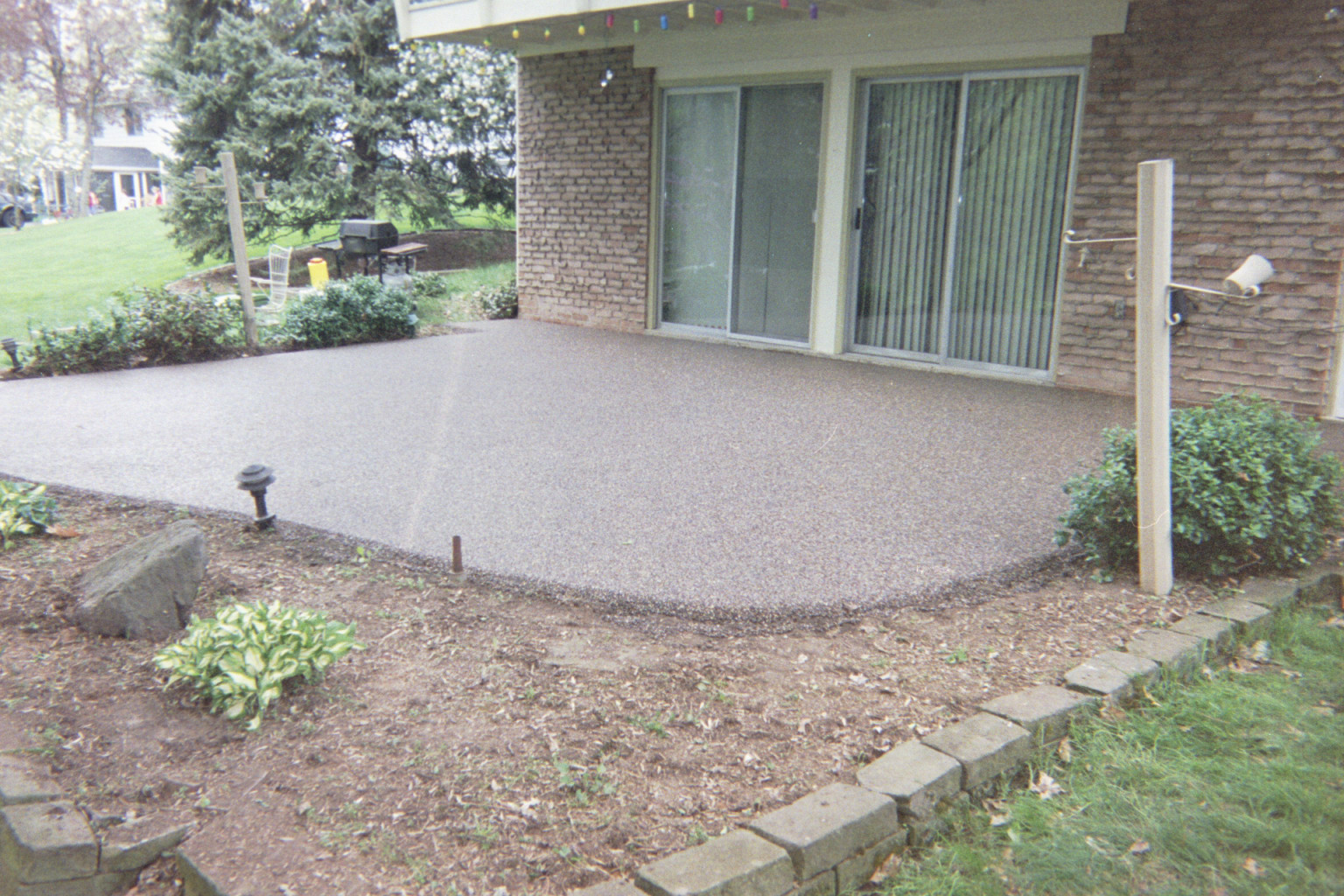 Clear Coating Cement : Clear coat for concrete floors