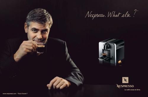 George Clooney for Nespresso