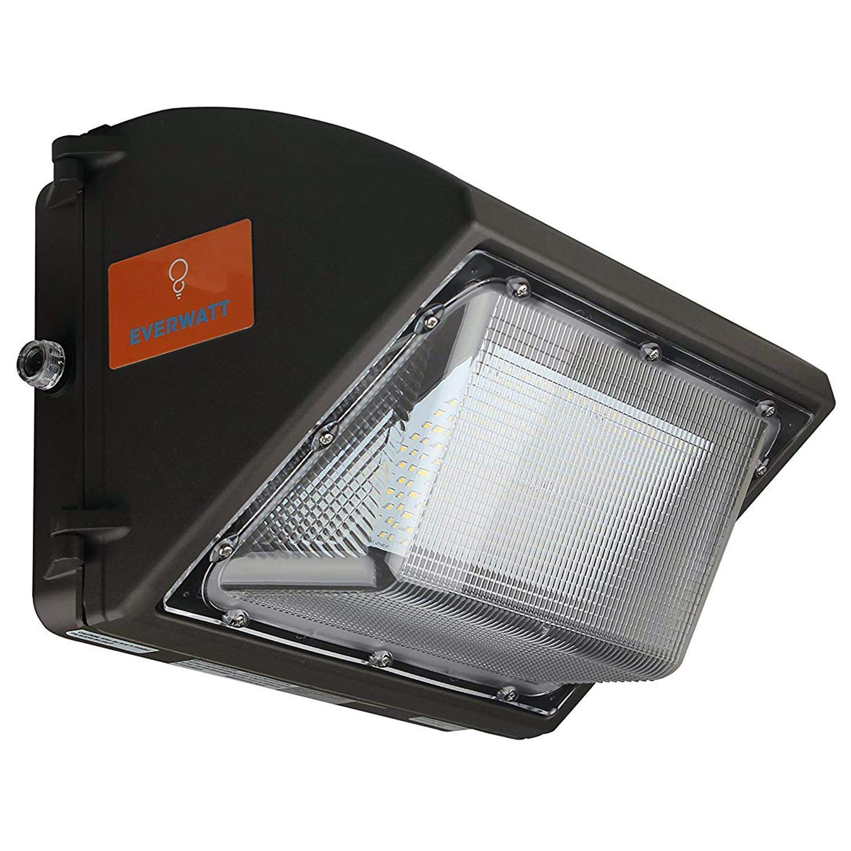 ul dlc 120w led outdoor wall pack light with photocell sensor 5000k warm white 16000 lumens 600 watt equivalency waterproof easy mount