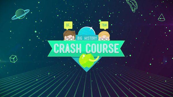 Image: Crash Course Big History Banner