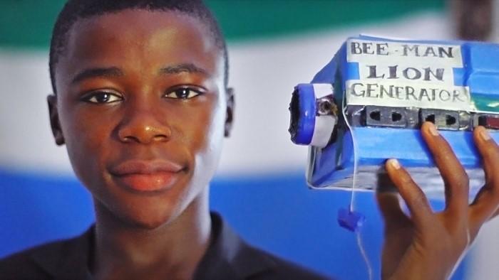 Image: Kelvin Doe of Sierra Leone