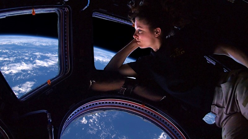 Image: International Space Station astronaut Tracy Caldwell Dyson