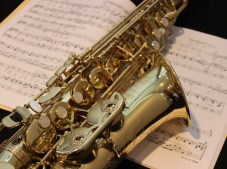 Image: Sax and music
