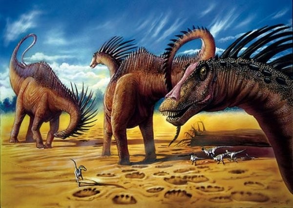 amargasaurus dinosaur dancing