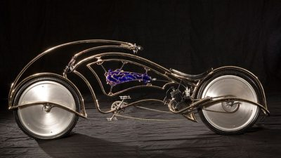 Image: eco friendly bike made by Josh Hadar