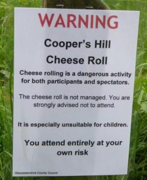 The Crazy Cooper's Hill Cheese Rolling Festival | EWC