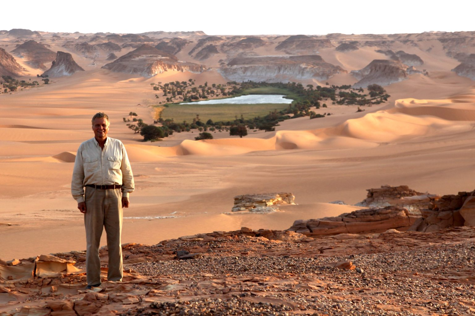 Image: Curiosity Driven Science is helping us study lakes like this oasis in Chad