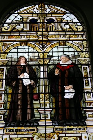 Image: Harvard stained glass windows