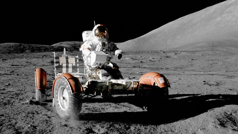 Humans have visited Earth's moon with flybys, robots, and crewed missions.