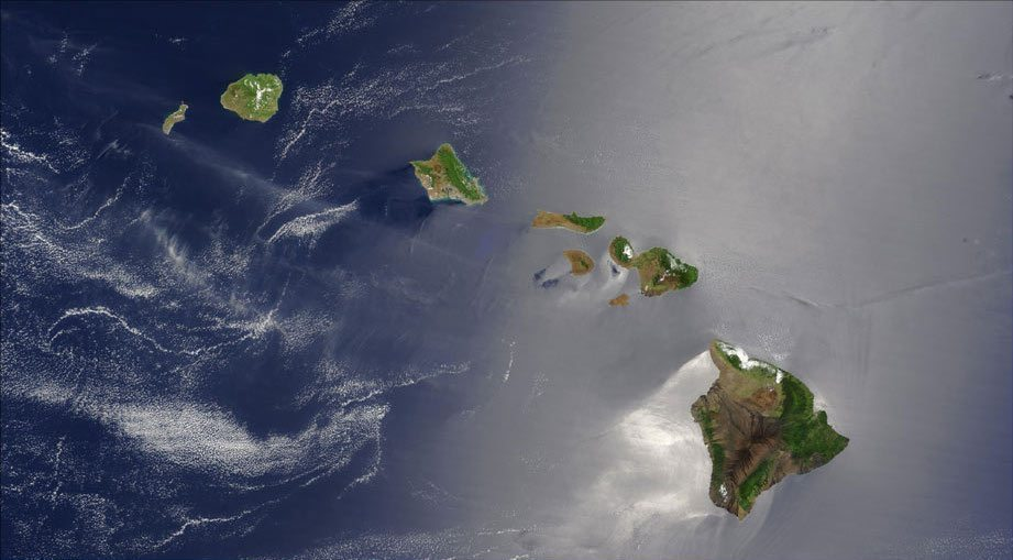 Image: Hawaiian Islands from Above
