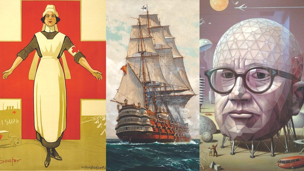 Image: A nurse, a pirate, and Buckminster Fuller: the rebel designers of history