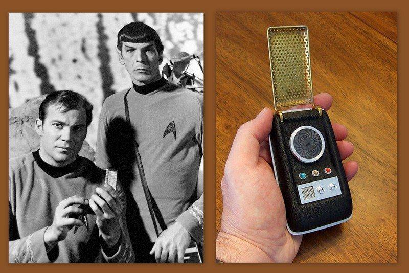 Image: Scifi wonders like Cloud cities and Star Trek Tricorders