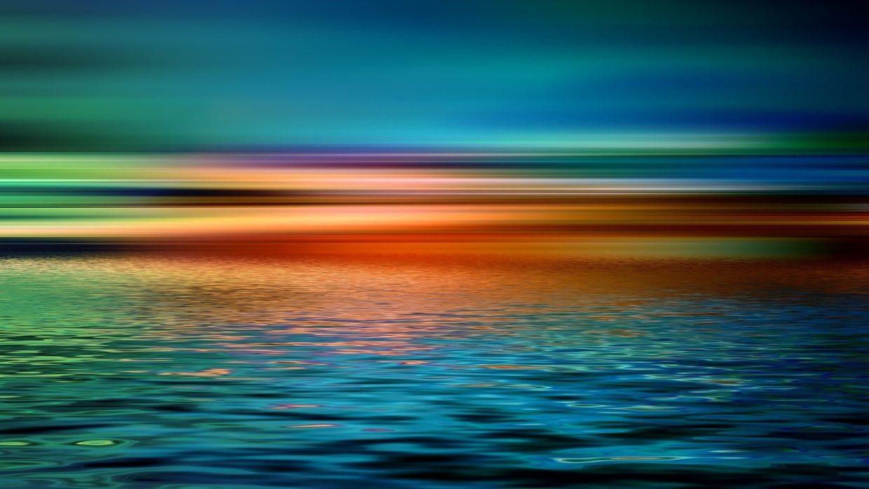 Image: Horizon over a still ocean