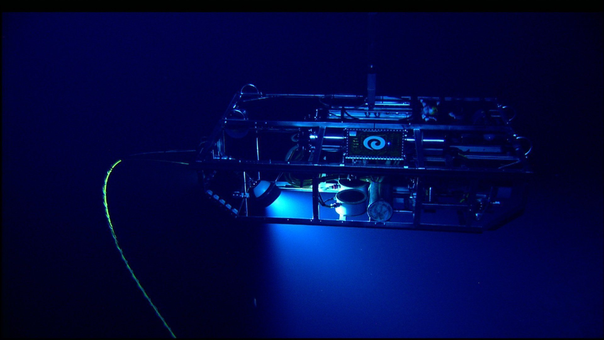 Image: Argus the remotely operated vehicle working underwater