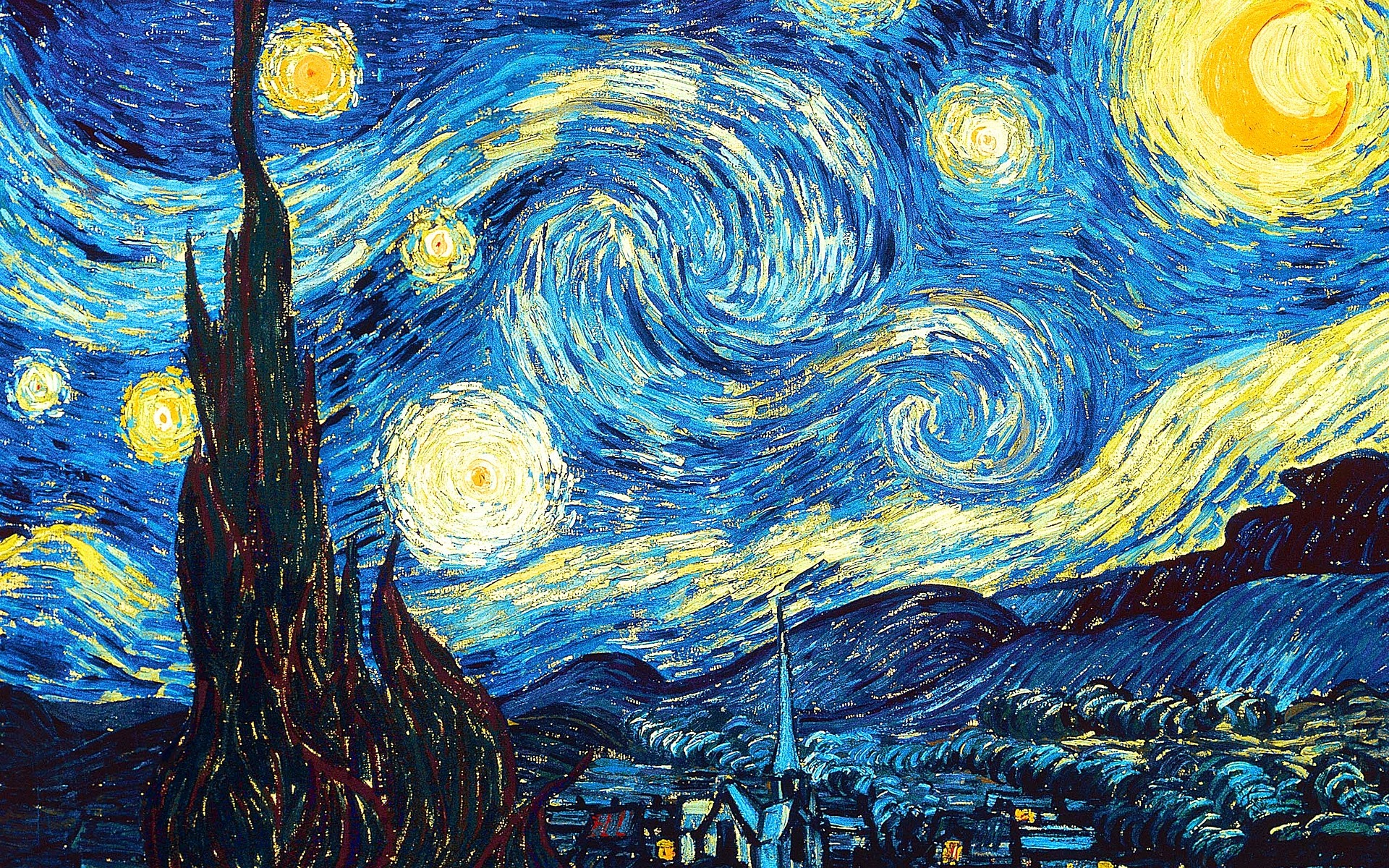 Why Does Van Goghs The Starry Night Captivate Us