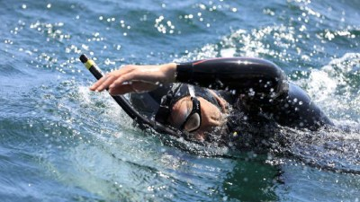 Image: Ben Lecomte Swimming the Pacific Ocean for Science