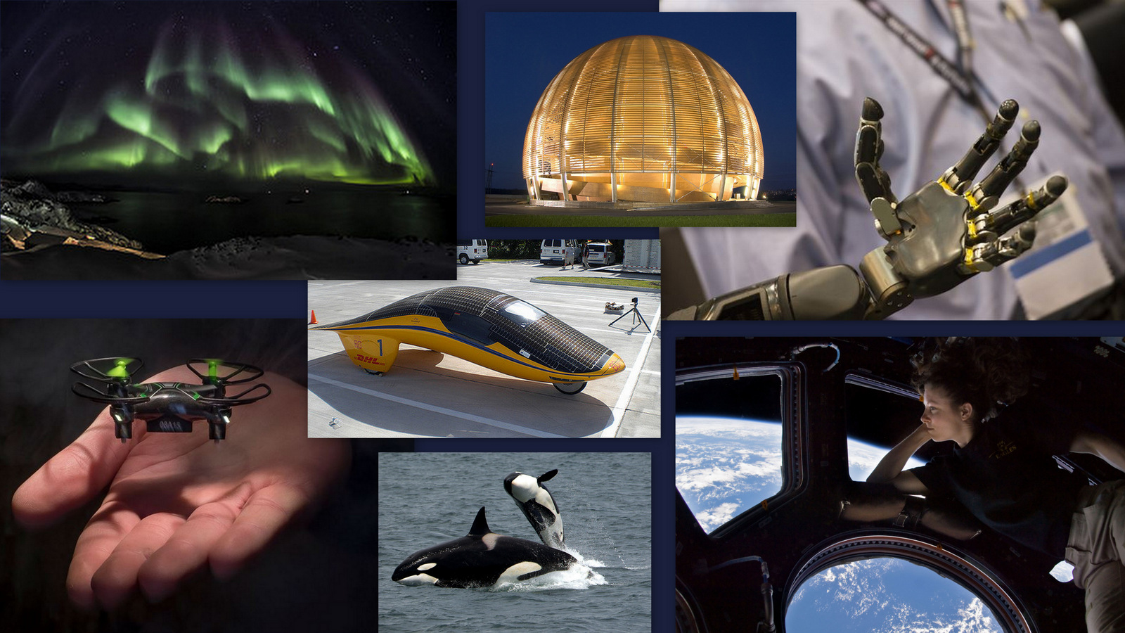 Image: collage of innovation pictures