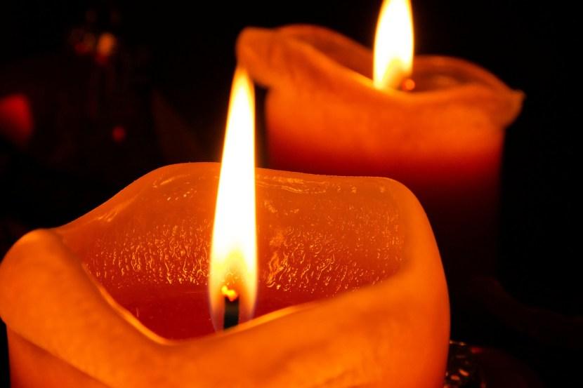 Anspracher einer Kerze