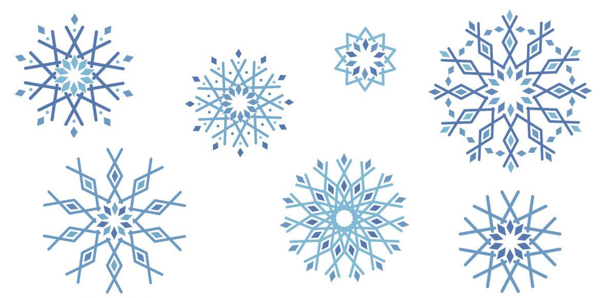 Create Geometric Snowflakes In Adobe Illustrator Every