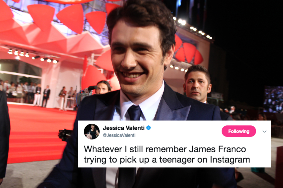 On This Episode of WHAT NOT TO DO: Former MTV News Anchor Kurt Loder Defends James Franco's Creepy Behavior Toward Underage Girls