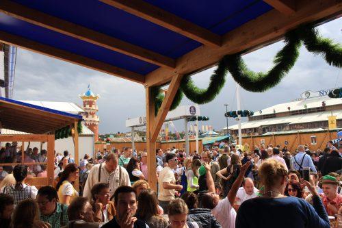 oktoberfest crowds outdoors 500x333 - Oktoberfest 2014 Opening Day, Munich, Germany: Day 5