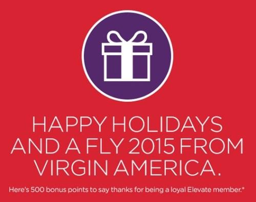 500 free virgin america points 500x395 - 500 free Virgin America Elevate points