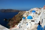 santorini greece - Travel Contest Roundup: April 15, 2015 - Greece, Portugal, Spain & more