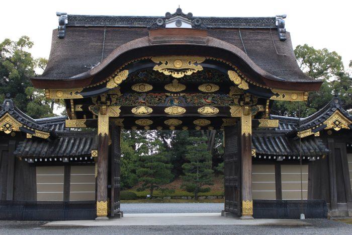 nijo castle karamon gate 700x467 - A visit to Imperial Palace, Philosopher's Walk, Ginkakuji Temple in Kyoto, Japan