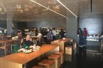cathay pacific the bridge dining room - Cathay Pacific The Bridge Business Class Lounge Hong Kong review