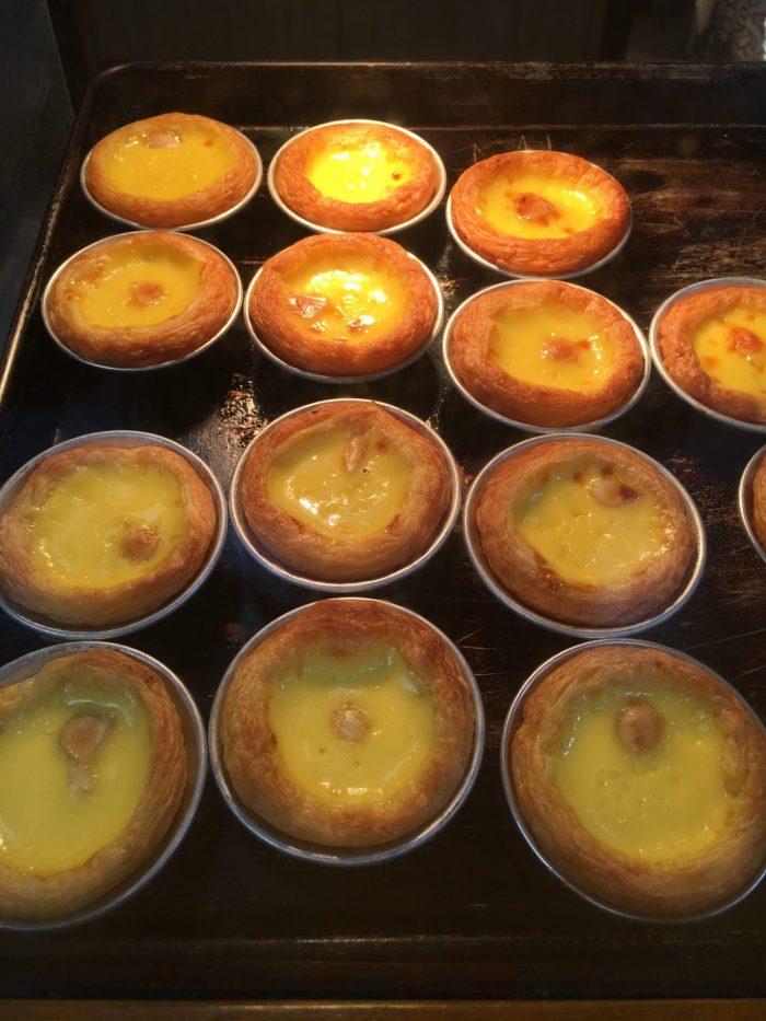 portuguese egg tarts macau 700x933 - A day trip to Macau from Hong Kong