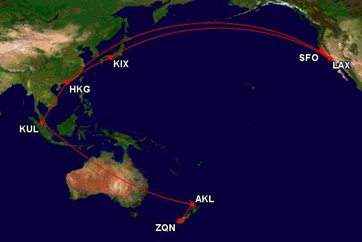 trip around pacific rim new zealand hong kong - A trip around the Pacific Rim - Introduction