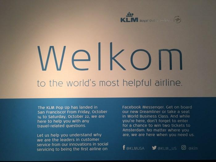 klm popup san francisco details 700x525 - A visit to the KLM pop-up in San Francisco
