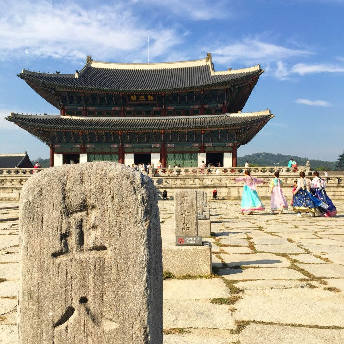 gyeongbokgung palace 700x700 - A visit to the Five Grand Palaces of Seoul, South Korea