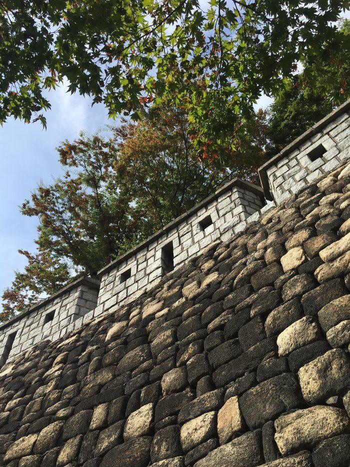 namsan mountain trail seoul city wall 700x933 - Walking the Seoul City Wall - Namsan (Mongmyeok) Mountain Trail section