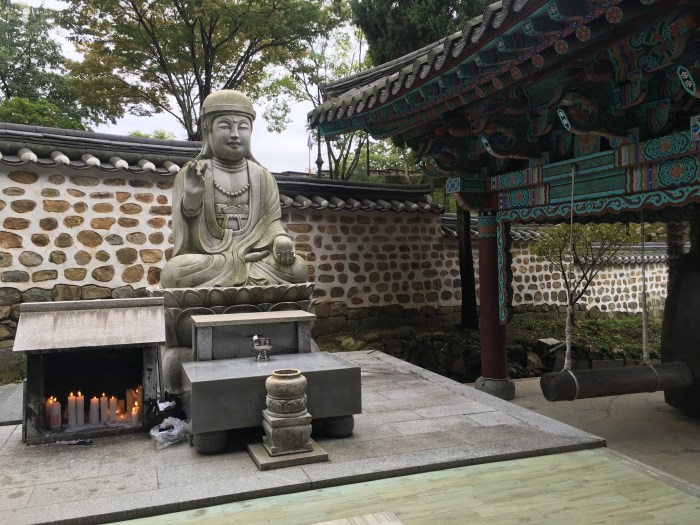 hoguksa temple jinju 700x525 - A visit to Jinjuseong Fortress in Jinju, South Korea