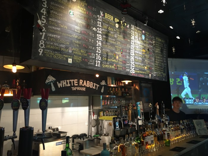 white rabbit seoul 700x525 - The best craft beer in Seoul, South Korea
