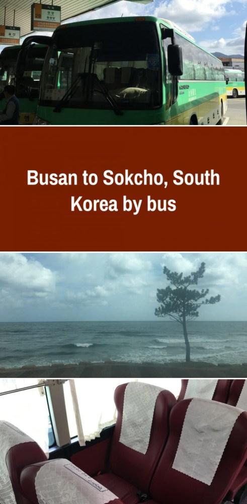 busan to sokcho south korea by bus 491x1000 - Busan to Sokcho, South Korea by bus