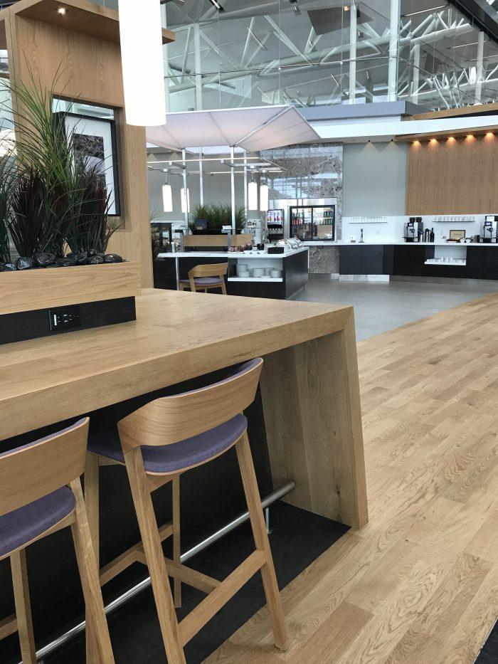 aspire lounge transborder departures calgary airport yyc dining 700x933 - Aspire Lounge Transborder Departures Calgary Airport YYC review