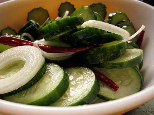 salting pickles