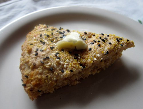 cheese & seed scones