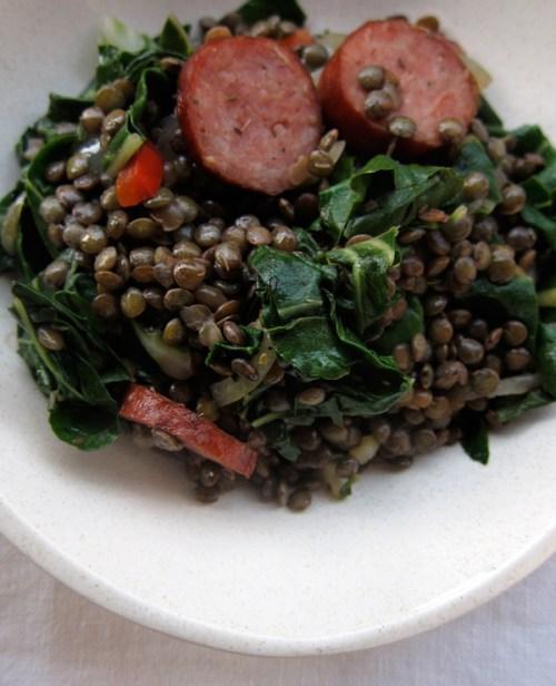lentils served!